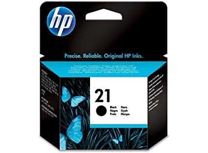 HP 21 - Cartucho de Tinta Original Negro, Color Negro