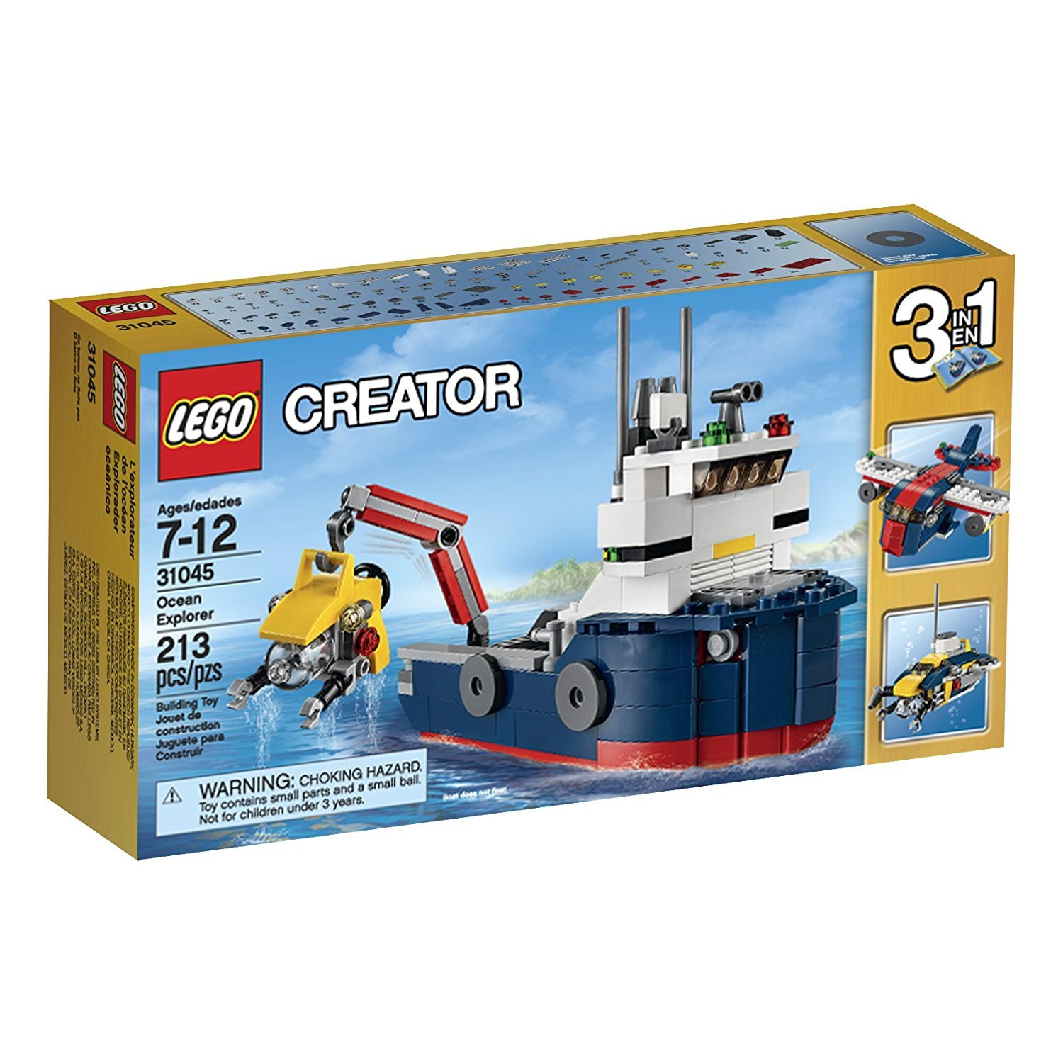 LEGO® City® Fishing Boat 60147 Creative Play Toy