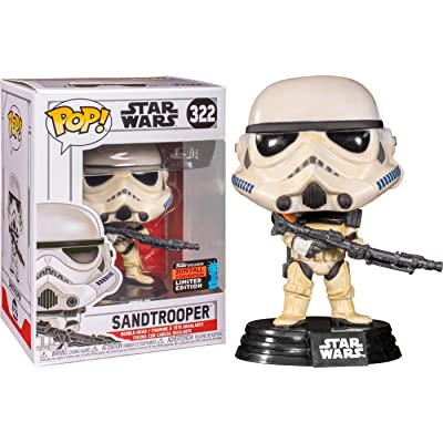 Funko POP! Star Wars - Sandtrooper, Fall Convention Exclusive: Toys & Games