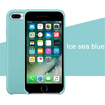 ad9051c113 Image Unavailable. Image not available for. Color: Silicone Case for iPhone  7 Apple ...
