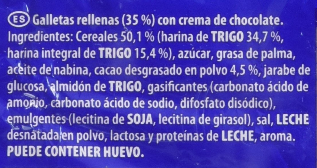 LU, Principe Galleta Sandwich Relleno de Chocolate - 80 g: Amazon.es: Amazon Pantry