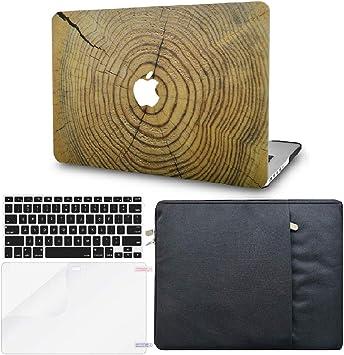 Lamina Protectora MacBook Air 13.3 Ultra Delgado Pl/ástico {A1932} KECC MacBook Air 13 Retina 2019//2018, Touch ID w//EU Cubierta Teclado Arco/íris de Niebla
