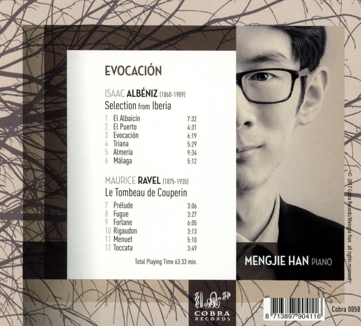 MENGJIE HAN - Isaac Albeniz Selection From Iberia - Amazon ...
