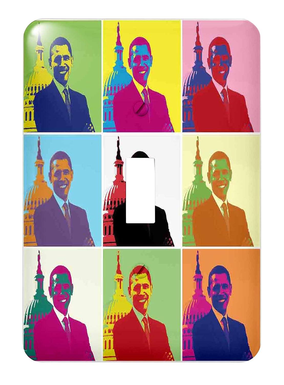 3drose LSP_ 130692_ 1 President Barack 130692 LSP Obama – Popアート( multi-views ) – Single切り替えスイッチ B00DD6P6KM, nine store:f7e61c1c --- number-directory.top