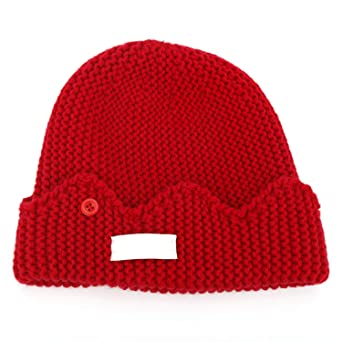 9e68d8bfbd5 Amazon.com  in Stock Jughead Jones Riverdale Cosplay Beanie Hat Hot Topic  Exclusive Crown Knitted Cap  Clothing