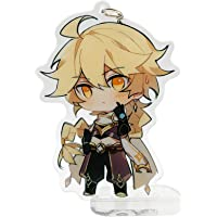 YJacuing Genshin Impact Cute Acrylic Keychain Figure