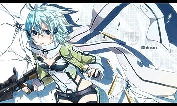 Amazoncom Sword Art Online Poster Asada Shino Alice