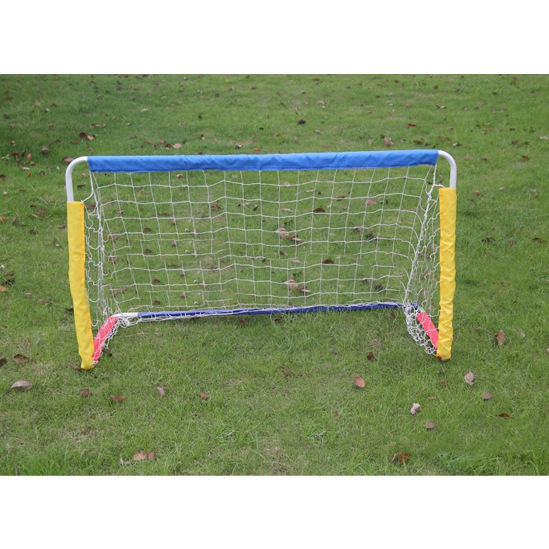 Jsqianchen Mini Goals Fußballtor Falten Kinder Erwachsene Familie Zimmer Indoor Outdoor Kombinierte Einfache Ziel