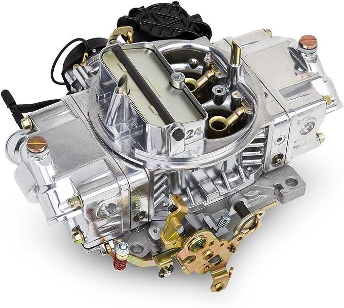 570 CFM 4 Barrels Vacuum Secondary Aluminum Electric Choke Holley Performance 0-83570 Street Avenger Carburetor