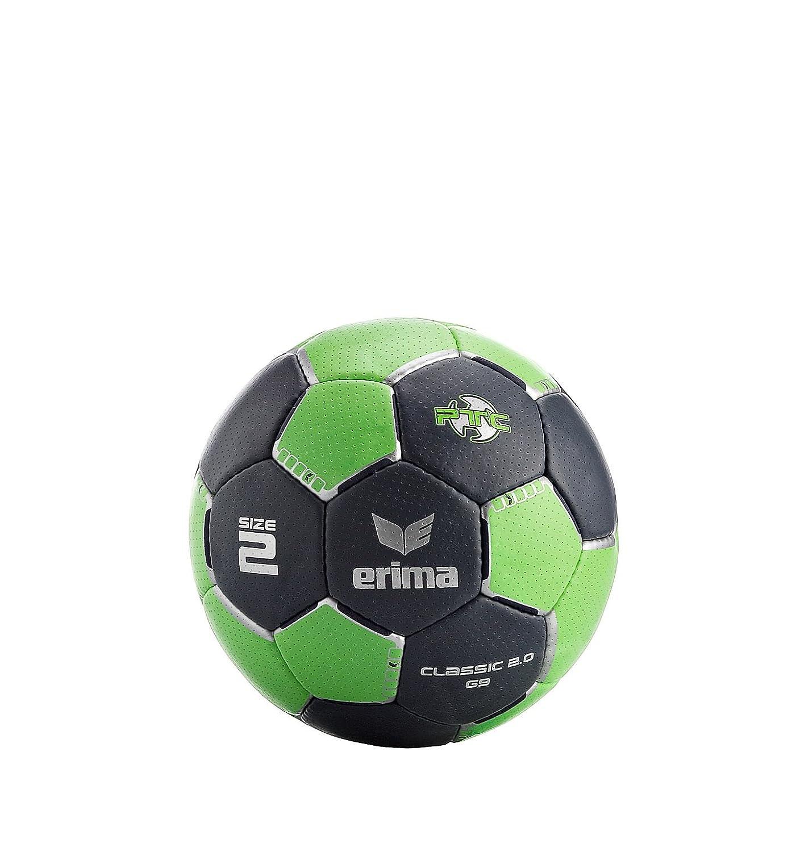 erima G9 Classic 2.0 - Balón de balonmano gris gris, verde y ...