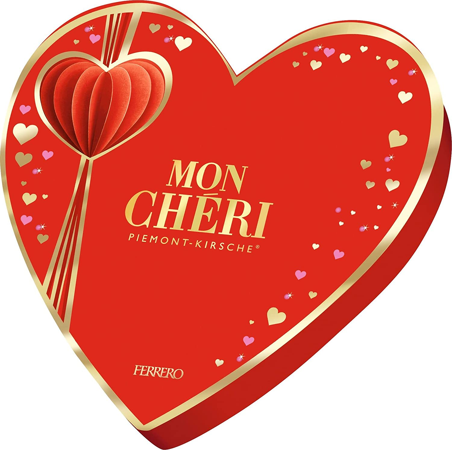 Amazon.com : Mon Cheri Heart 147g : Candy And Chocolate Covered ...