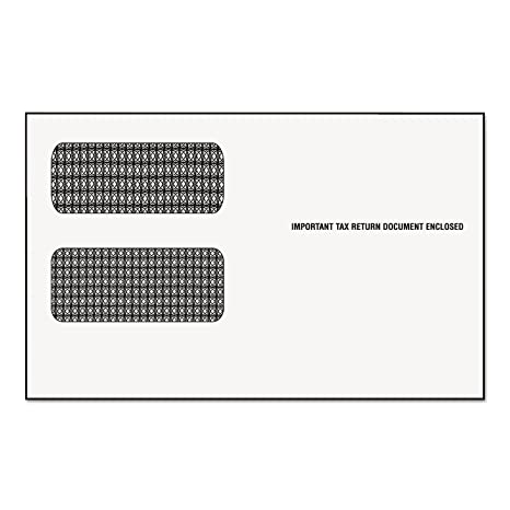 "1099 form uk  Tops - Double Window Envelopes F/7 Form, 7""x7-7/7"", 7/PK ..."