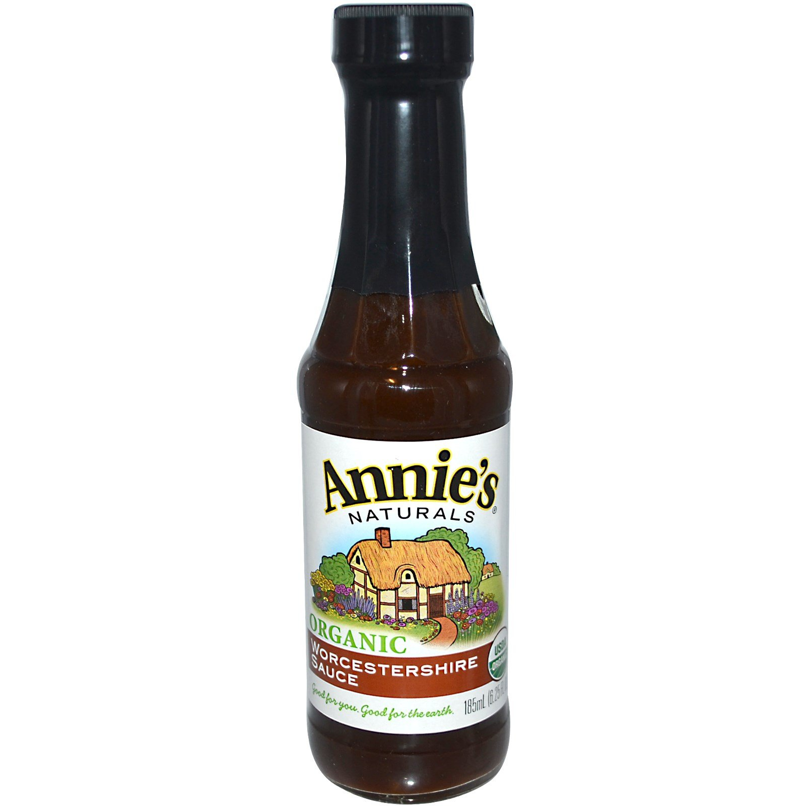 Annie's Naturals Organic Worcestershire Sauce, 6.25 Ounce (Pack of 2)