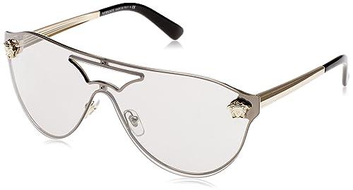 Versace 0Ve2161, Gafas de Sol para Mujer, Gold, 58