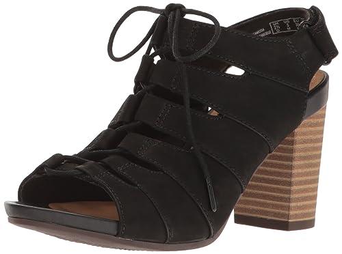 b8d6d4e0b45 Clarks Women s Banoy Waneta Heeled Sandal  Amazon.ca  Shoes   Handbags