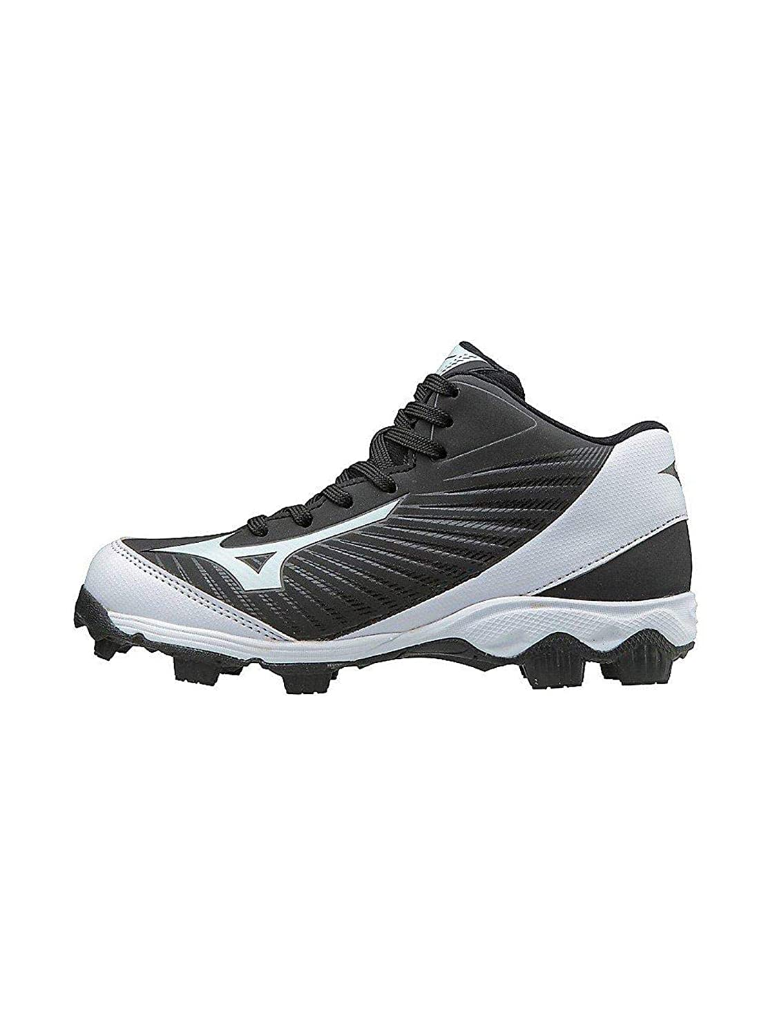 Mizuno (MIZD9) Kids' 9-Spike Advanced Franchise 9 Molded Youth Baseball Cleat-Mid Shoe