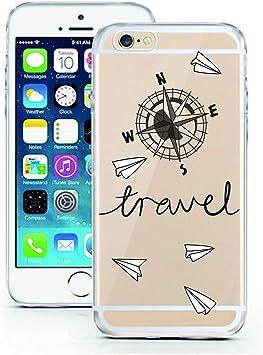 Coque licaso® pour iPhone 7 Plus modèle Travel Voyage Vacances en ...