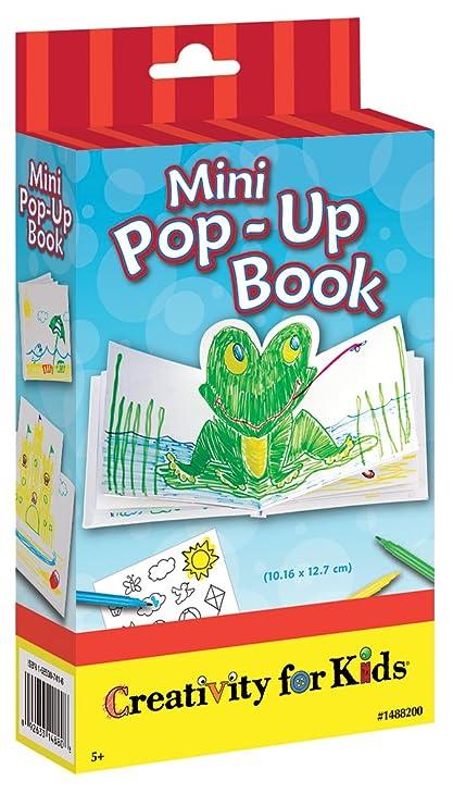 amazon com creativity for kids mini pop up book craft kit make