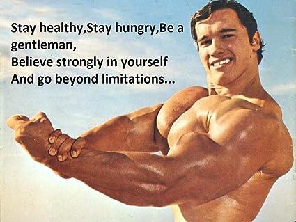 Amazon com: Wall Decor Master Arnold Schwarzenegger