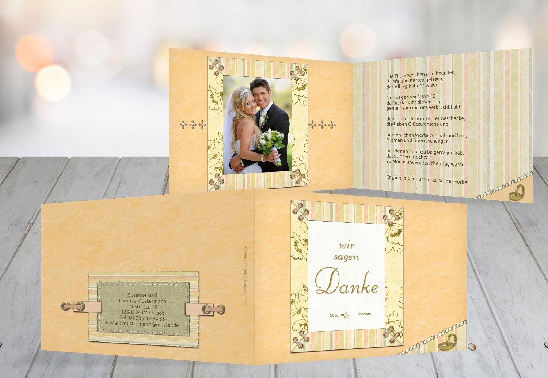 Kartenparadies Danksagung für Hochzeitsgeschenke Hochzeit Dankeskarte Bund für's Leben, hochwertige Danksagungskarte Hochzeitsglückwünsche inklusive Umschläge   20 Karten - (Format  148x105 mm) Farbe  LilaFlieder B01MYAMM2N | Düss