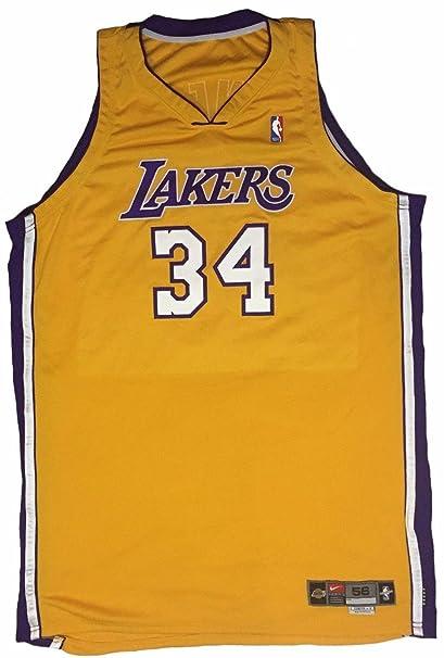 7a608812b Shaquille O Neal Game Worn Jersey 1999-2000 NBA Finals Championship Season  LOA -