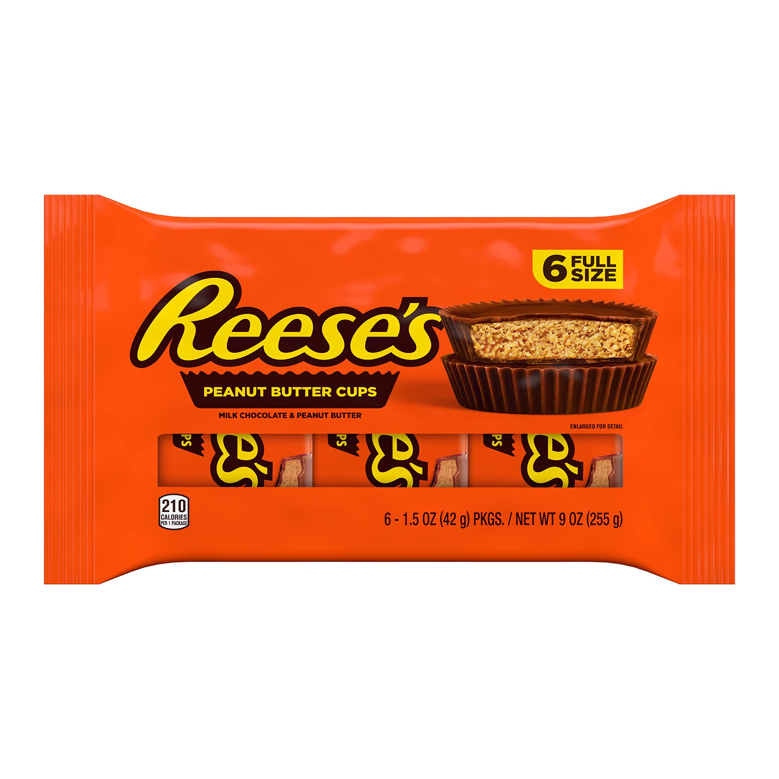 Reese's, Milk Chocolate Peanut Butter Cup, 9 oz