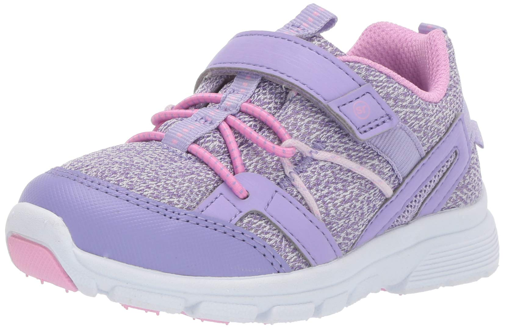 Stride Rite Ocean Girl's and Boy's Machine Washable Athletic Sneaker, Purple, 6 M US Toddler