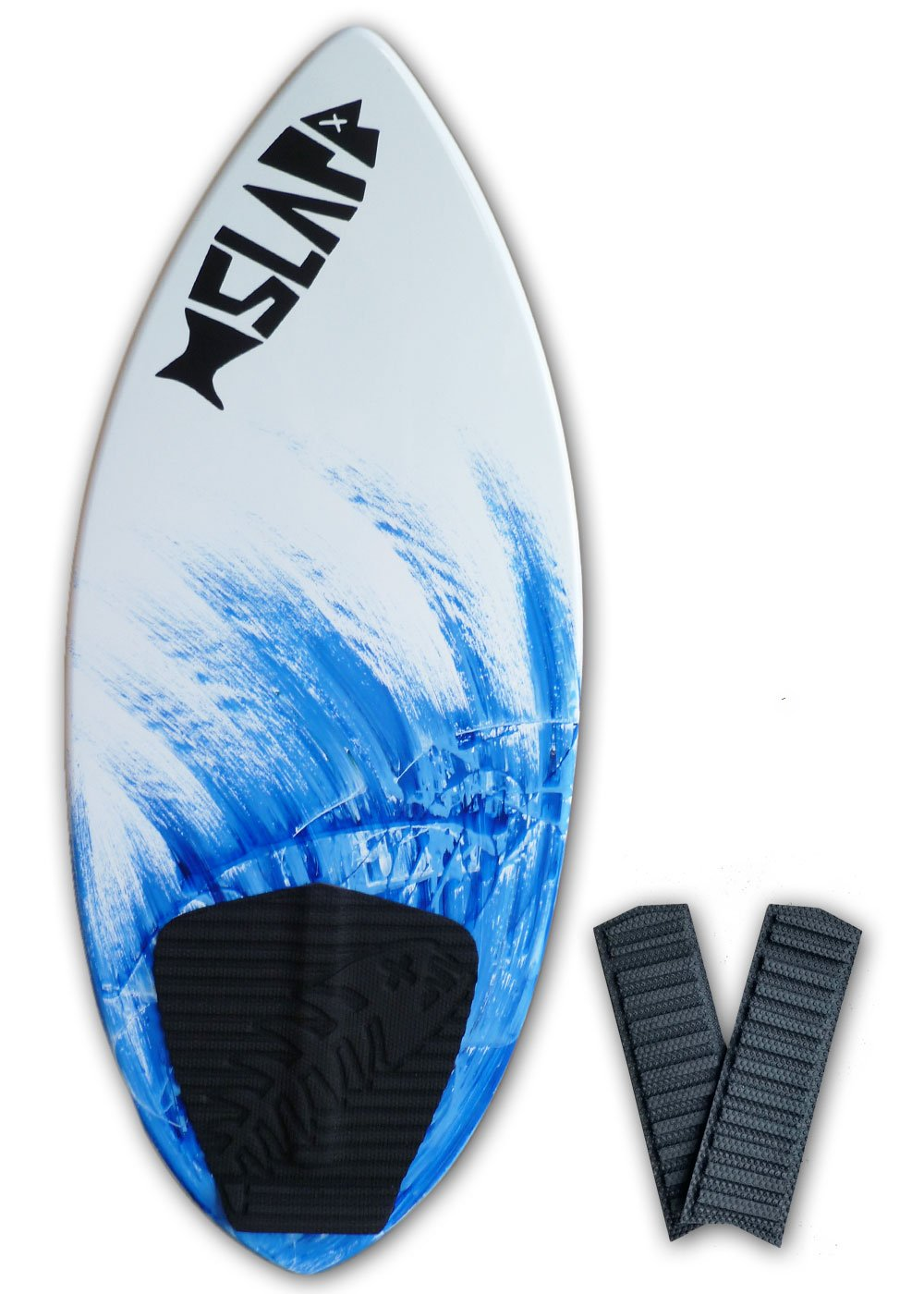 Slapfish Skimboards - Fiberglass & Carbon with Traction Deck Grip - Kids & Adults - 2 Sizes - Blue (41'' Board & Arch Bar)