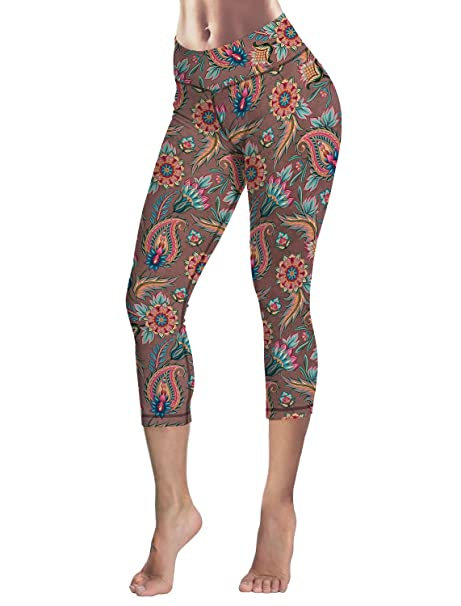 73709314ea2a3 Capri Tights Running Workout Leggings Cropped Pants India ...
