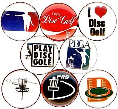Amazon.com: Disco de Golf 8 nuevos botones de 1