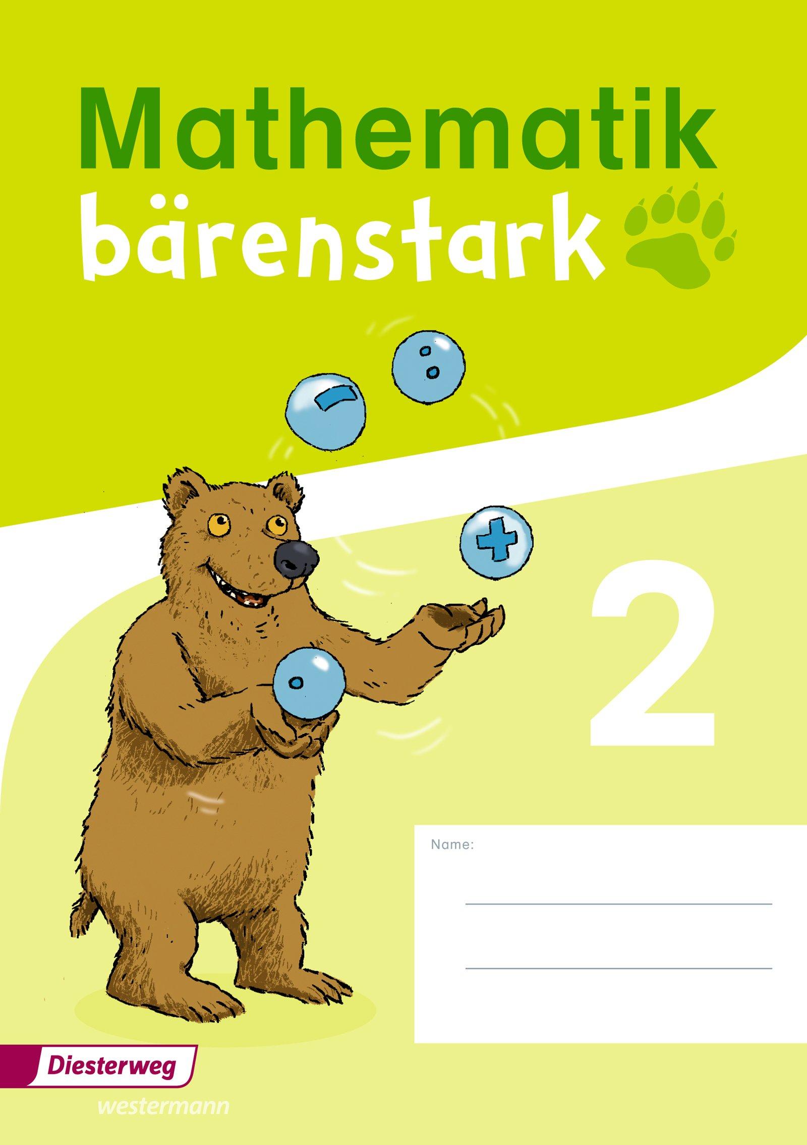 Mathematik bärenstark - Ausgabe 2017: Trainingsheft 2