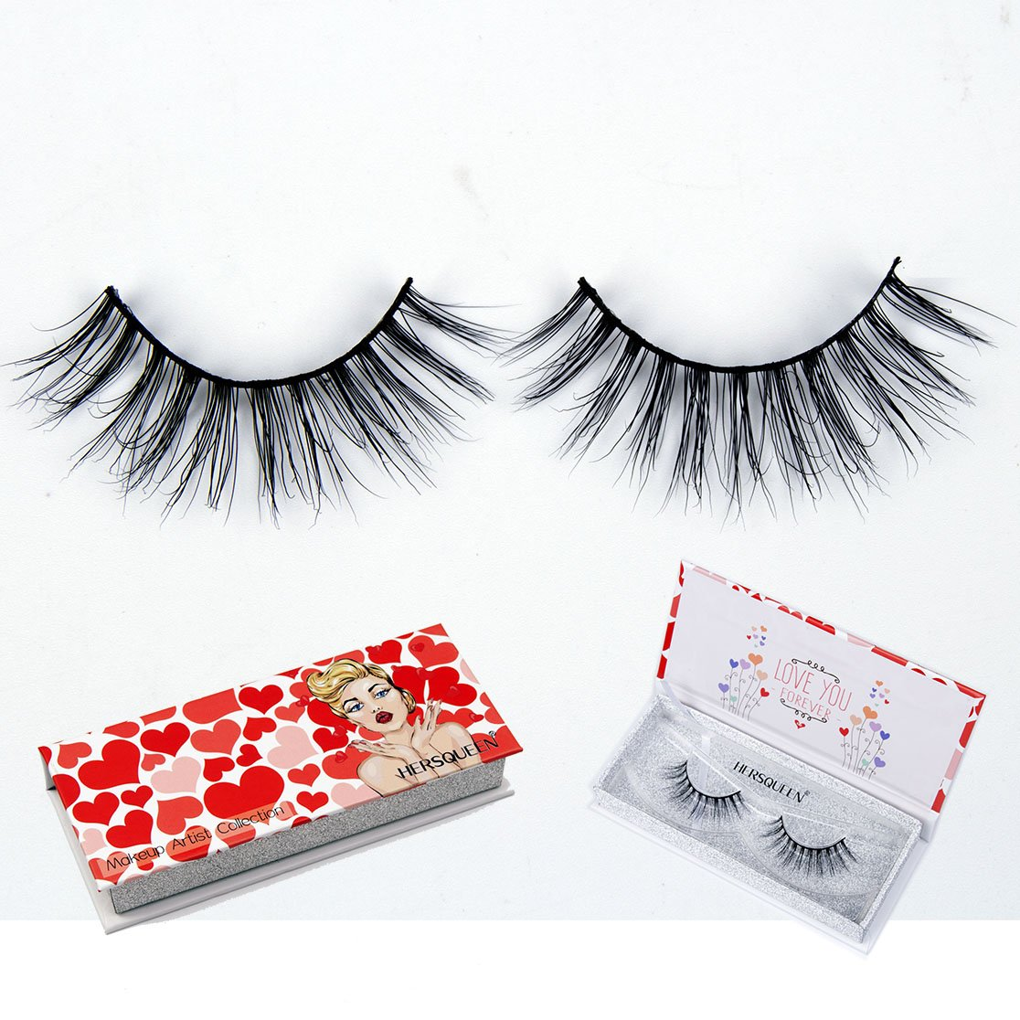 16e0776d1bd High End Makeup 3D Mink Lashes 100% Cruelty-Free Siberian Mink Fur Fake  Lashes Fully Handmade False Eyelashes Natural Eyelash or Dramatic Lashes  Both ...