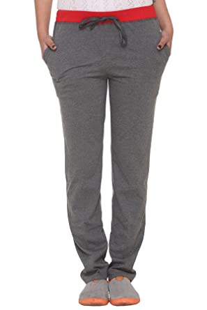 Vimal Cotton Blended Trackpant For Women Trousers at amazon