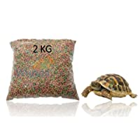 TREX COMPLETE TORTOISE FOOD FEED EXTRUDED PELLETS 2KG WEIGH OUT BAG
