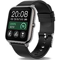 Popglory Smartwatch, fitnesstracker met bloeddrukmeting, fitnesshorloge met hartslagmeter, slaapmonitor, IP67 waterdicht…