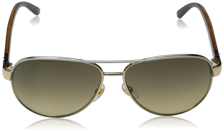 Amazon.com: Gucci Sunglasses - 4239 / Frame: Ivory Lens: Brown Gradient:  Shoes