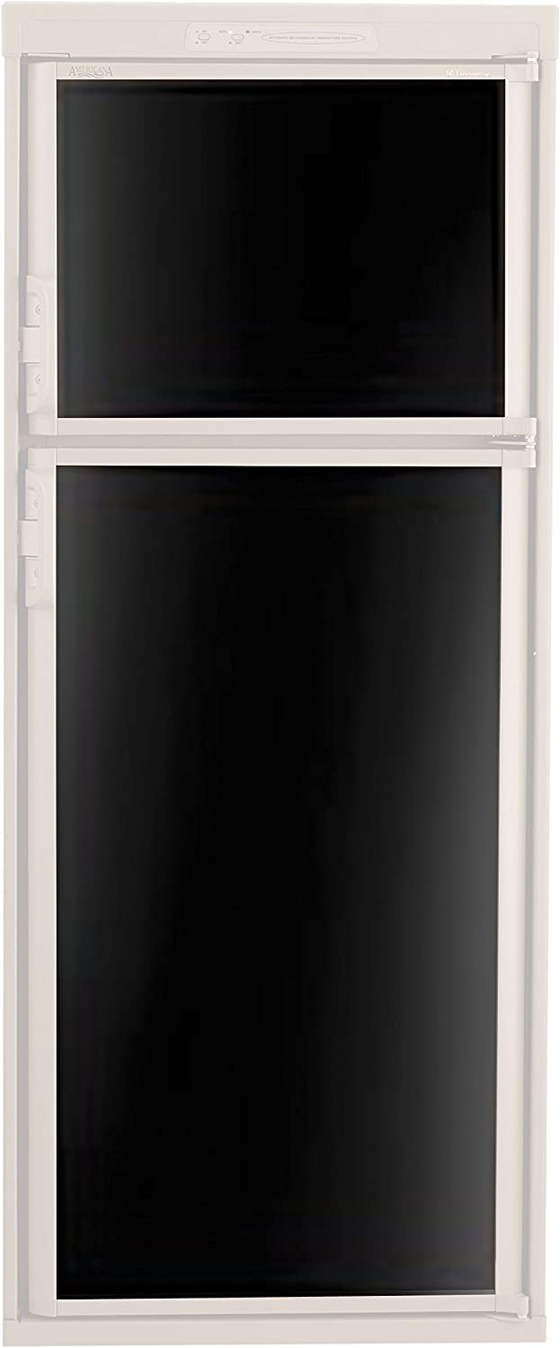 Dometic 3106863.065C Refrigerator Door Panel, Main Panel for RM2551/2552/2553/2554 - Black Acrylic