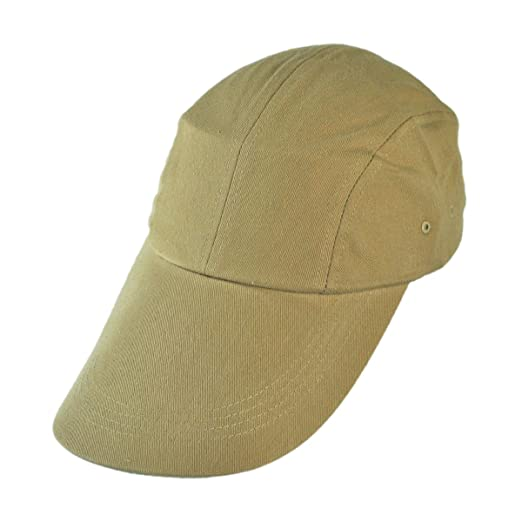 VHS Long Bill Baseball Cap (Khaki) at Amazon Men s Clothing store  c97fbcb7b48