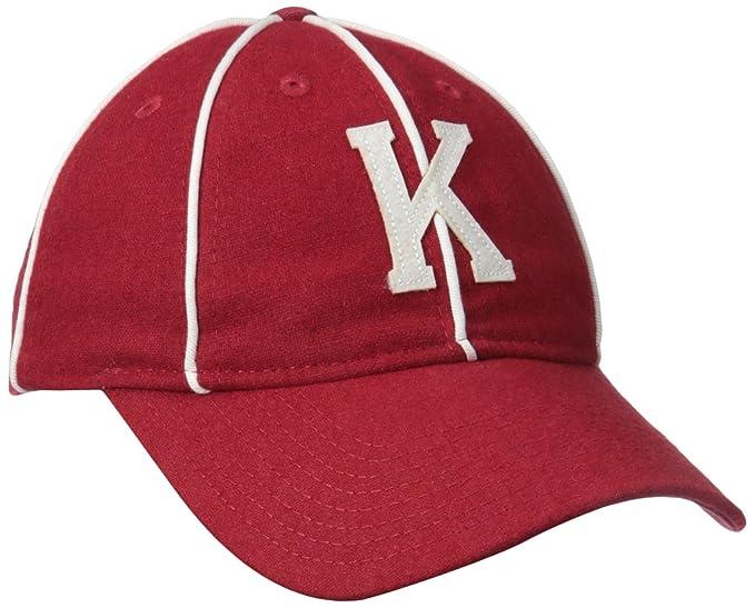 97dd6b56d56a7a Kangol Men's Vintage 8 Panel Baseball, Cardinal, Large at Amazon ...