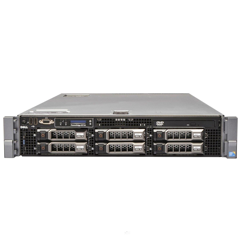 Dell PowerEdge R710 Virtualization Server 8-Core 48GB 4x300GB 15K 1 2TB  PERC6i