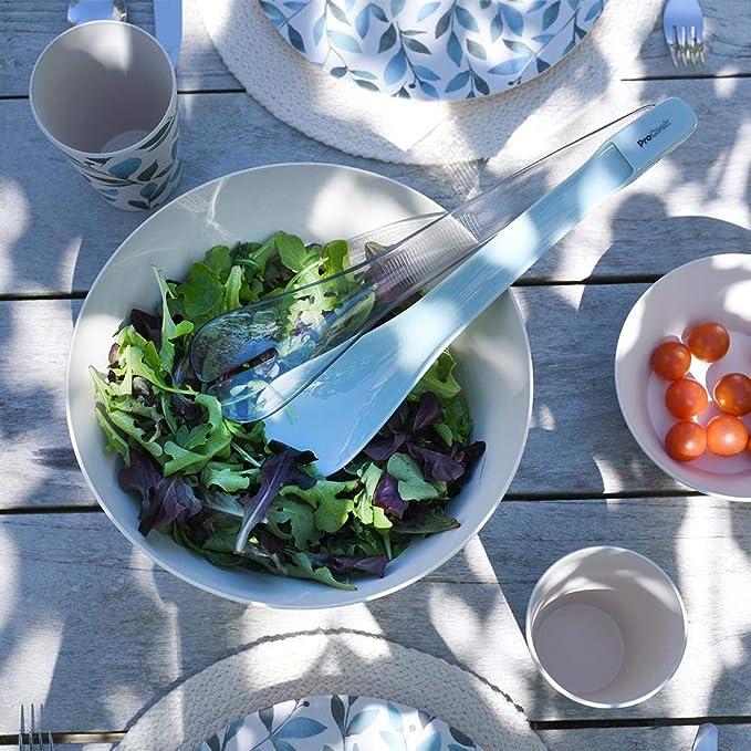 ineinander steckbar Salatl/öffel und Salatgabel ProCook Salatbesteck Salatzange