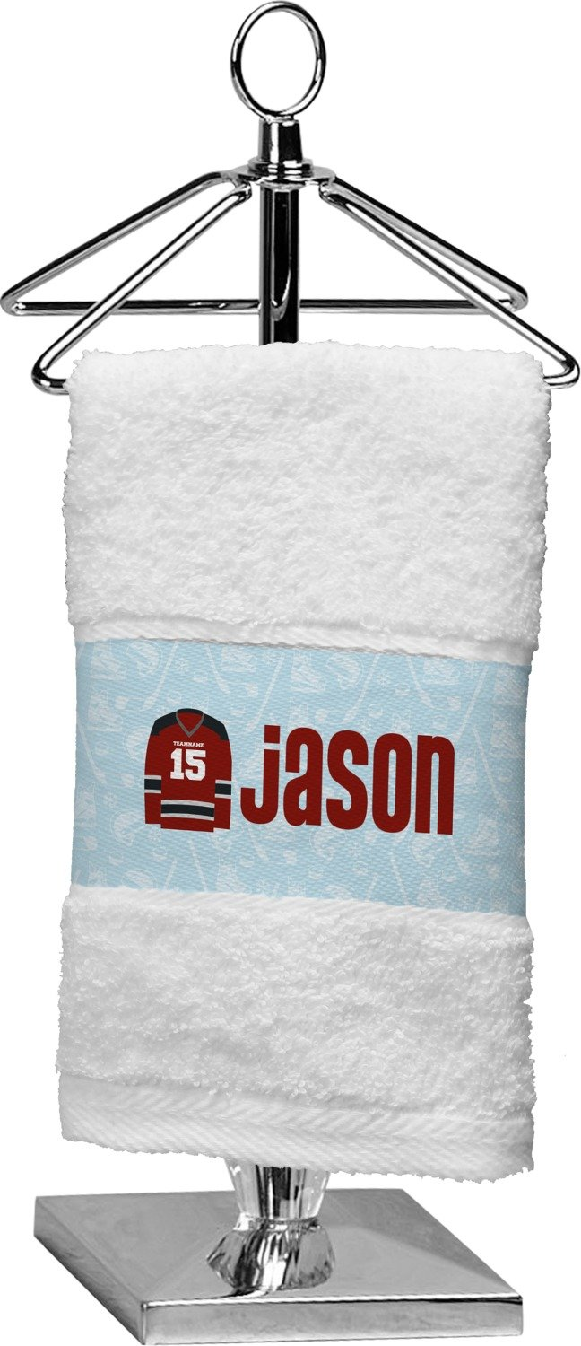RNK Shops Hockey Finger Tip Towel (Personalized)