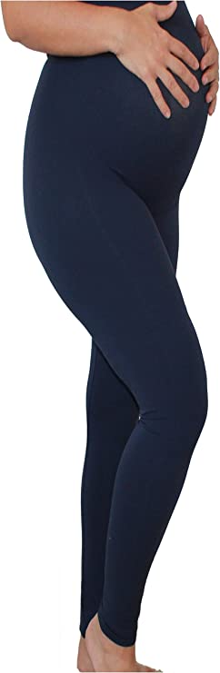 Essentials for Mothers Maternity Pregnant Women Leggings Navy, Seller from USA