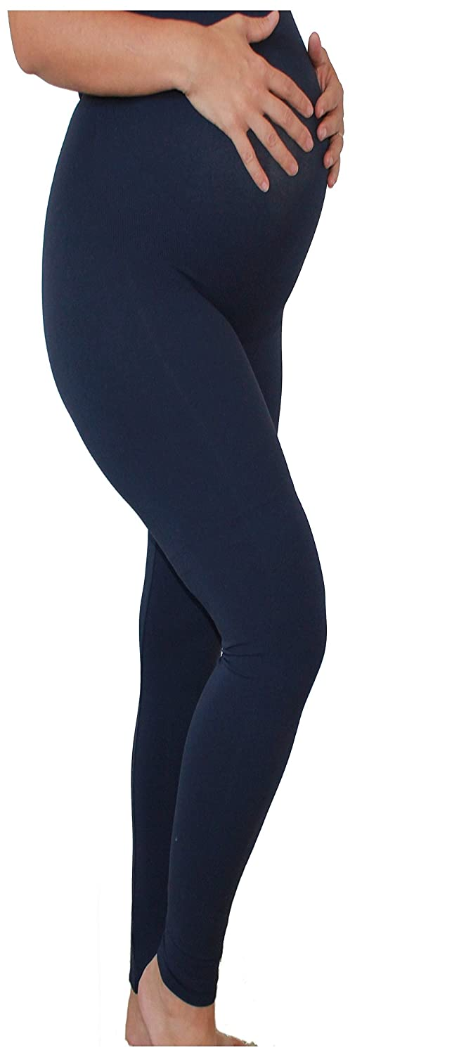 75811fb693a0e Amazon.com: Mothers Essentials Maternity Pregnant Women Leggings Navy,  Seller from USA: Clothing