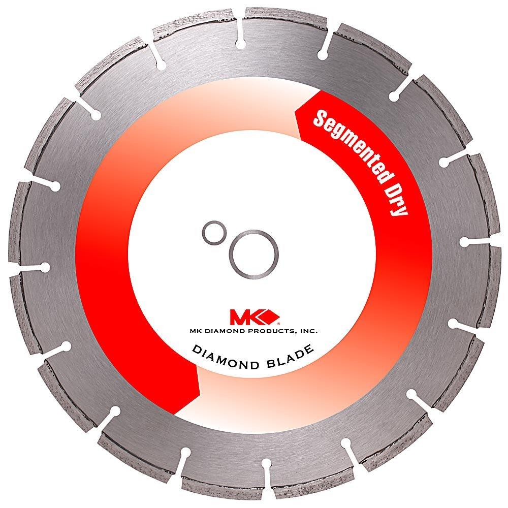 Disco de Diamante MK DIAMOND 152204 segmentado de corte en seco de 12 pulg. con eje de 1 pulgada para mampostería de alt