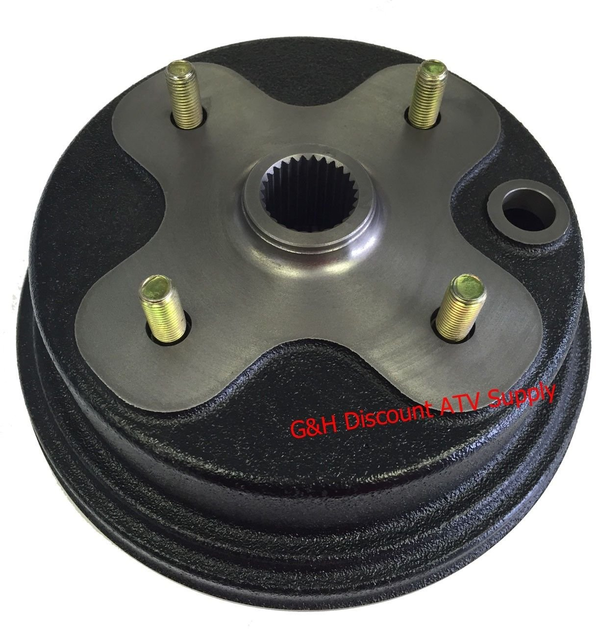 QUALITY FRONT OR REAR Brake Drum Hub for Yamaha YFB 250 Timberwolf 2x4 4X4 (replaces OE 3HN-25111-02-00) Wide Open