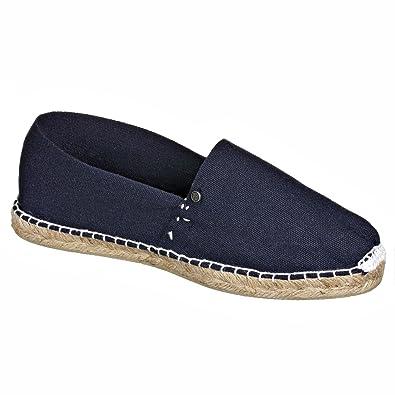 JOE N JOYCE Palma Unisex Espadrilles Handgefertigte Schuhe Schwarz Größe 38 lHL2yThJRF