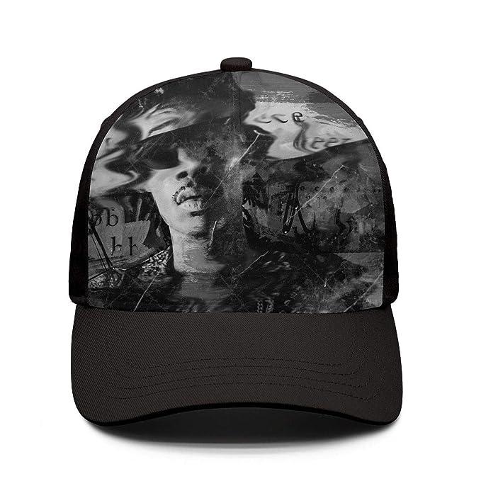 9dc785966 Amazon.com: Rock Music Album Cover Adjustable Baseball Cap Snapback ...