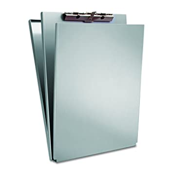 Saunders Recycled Aluminum A Holder Form Holder U2013 Letter Size Form Holder  With Hinged Writing
