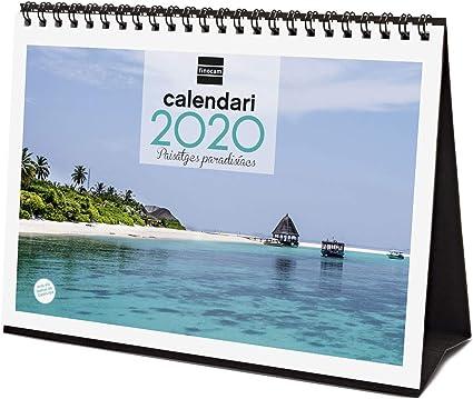 Finocam - Calendario de sobremesa 2020 Imágenes Paisajes ...